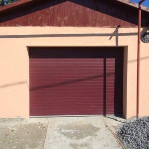 Секционные гаражные ворота - Микрополоса