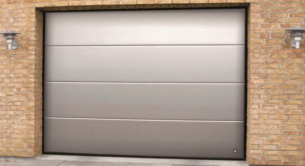 Секционные гаражные ворота – Без рисунка