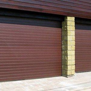 Секционные гаражные ворота – Полоса