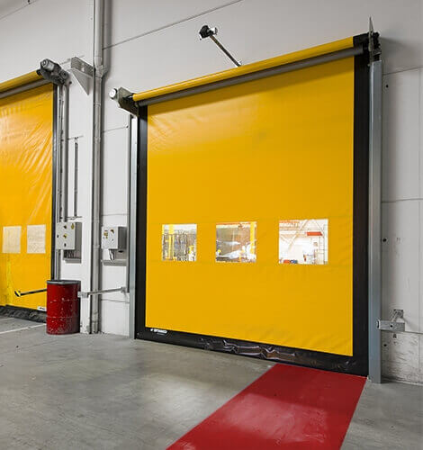 Скоростные ворота Dynaco М2 Compact