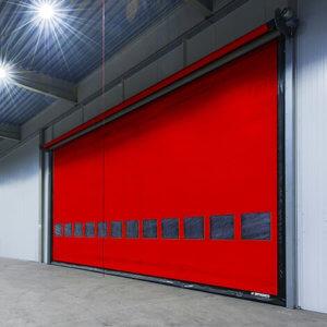 Скоростные ворота Dynaco М3 Compact - скоростные гибкие промышленные ворота, применяются для проемов больших размеров (по сравнению с M2 Compact), внутри помещений. Скоростные ворота M3 Compact отлично справляются с сохранением микроклимата в производственных помещениях.