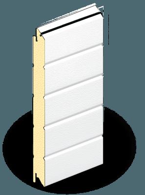 Сэндвич-панели белого цвета