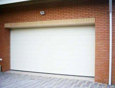 Секционные гаражные ворота RAL 9016