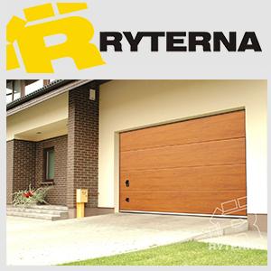 Гаражные секционные ворота Ryterna